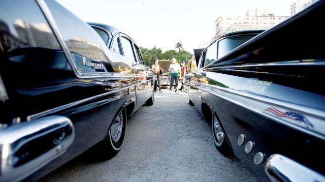 玩經典美國車在古巴 Cuban Chrome