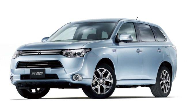 Mitsubishi Outlander PHEV兩顆馬達+2.0L引擎