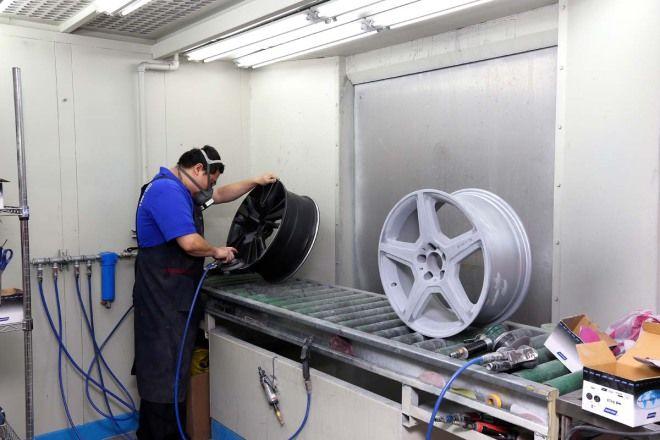輪圈修復色系變更 兩輪、四輪皆對應