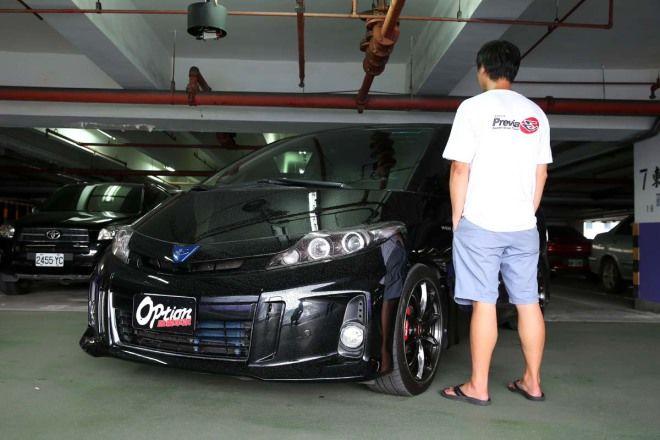 Previa俱樂部-山道玩家 Toyota Previa 3.5L