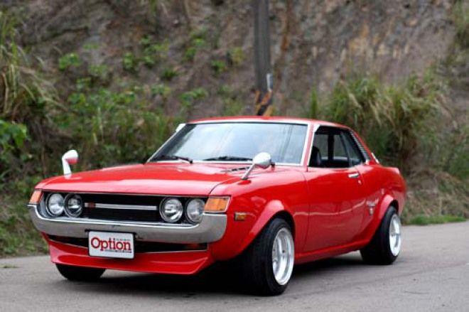 昭和風情1973 Toyota Celica