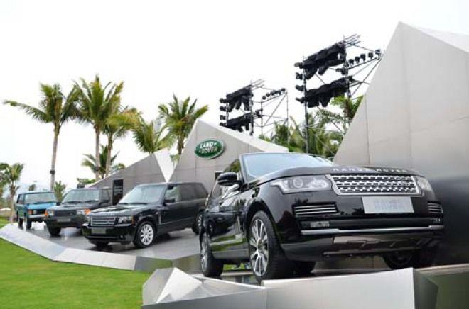細數越野經典 Range Rover