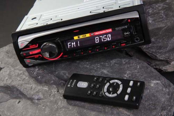 暢銷主機 介面討喜 Sony CDX-GT500US