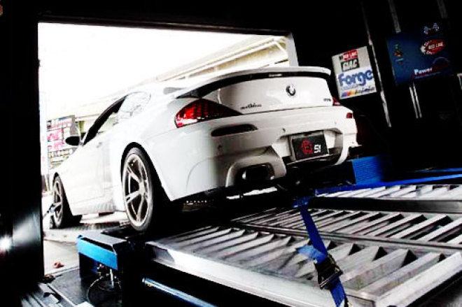 上馬測試 高轉速V10代表BMW E63 M6
