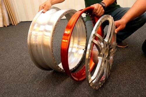 輪圈改造全紀錄 華麗性能兼具多片式高檔輪圈