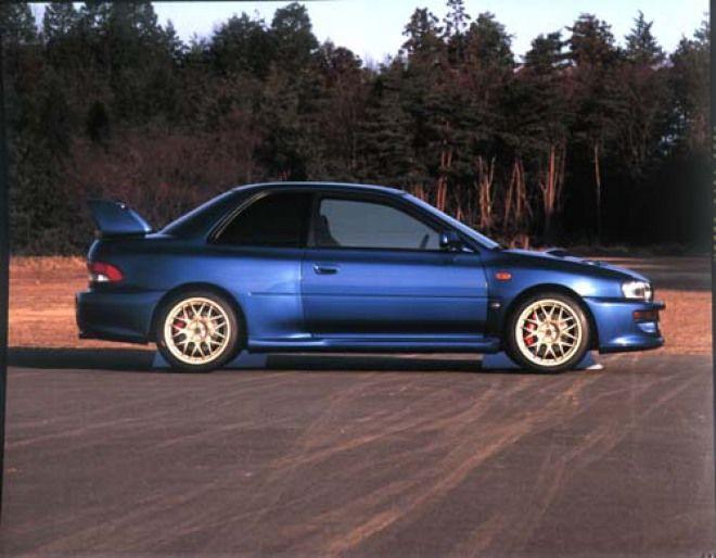 四驅傳動渦輪車 開路先鋒Subaru Impreza