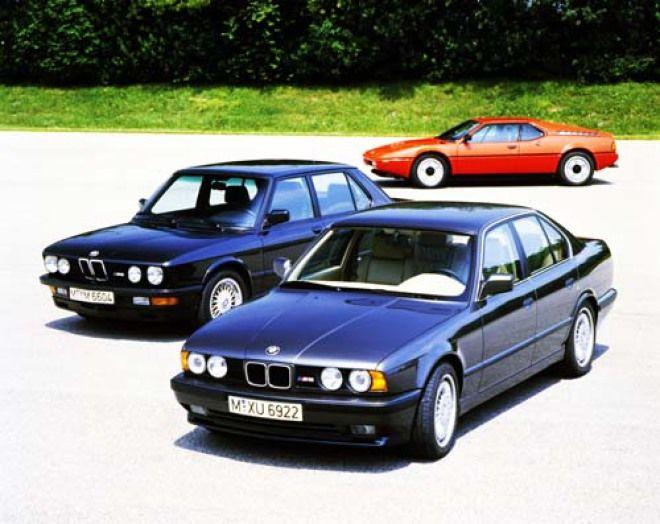 M5造型變革 1985--2005