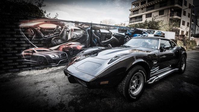 骨董車亮眼翻新Vilner Corvette