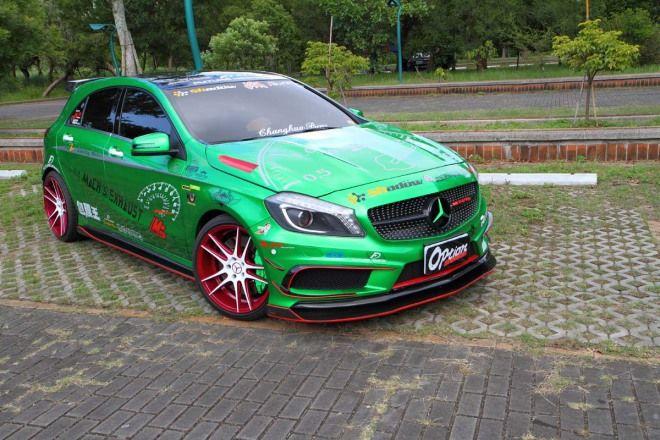 車色改造全攻略Part 4:酷炫電鍍綠A250