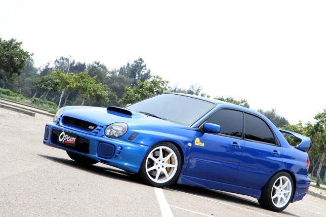 值得擁有中古車 日規EJ20紅頭Subaru Impreza GDB STI