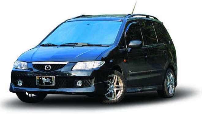 小家庭的出遊專用:Mazda Premacy