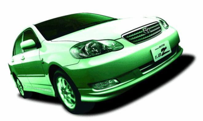 最划算的平價家庭房車:Toyota Altis