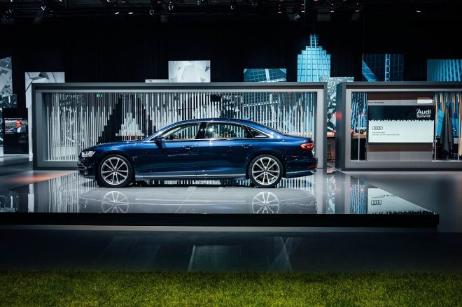 Audi Summit 全球高峰會 全新世代Audi A8全球亮相 搭載Level 3無人自動駕駛技術