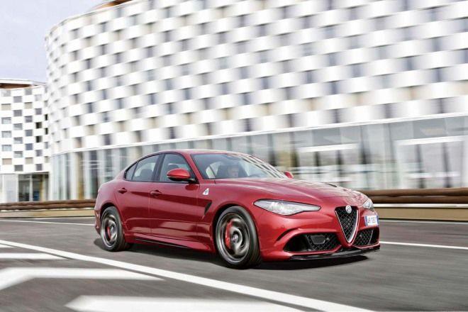 新義大利情人Alfa Romeo Giulia Quadrifoglio