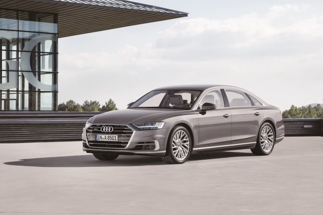 Audi集大成之作 全新A8豪華亮相