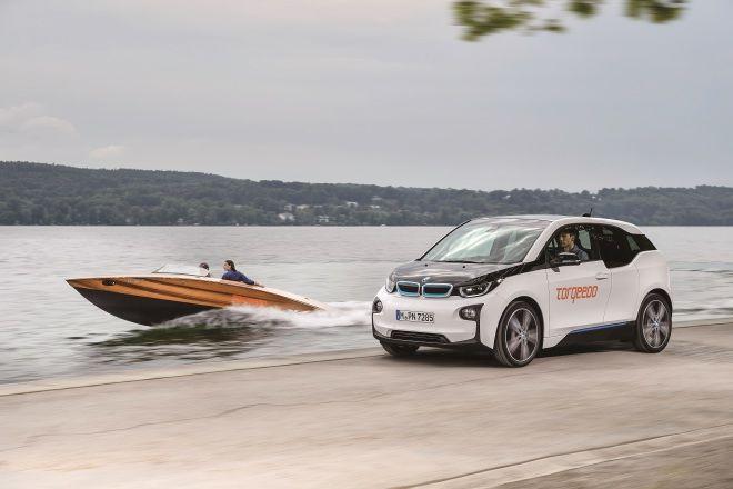 從陸地到海洋 Torqeedo快艇使用BMW i3電池模組