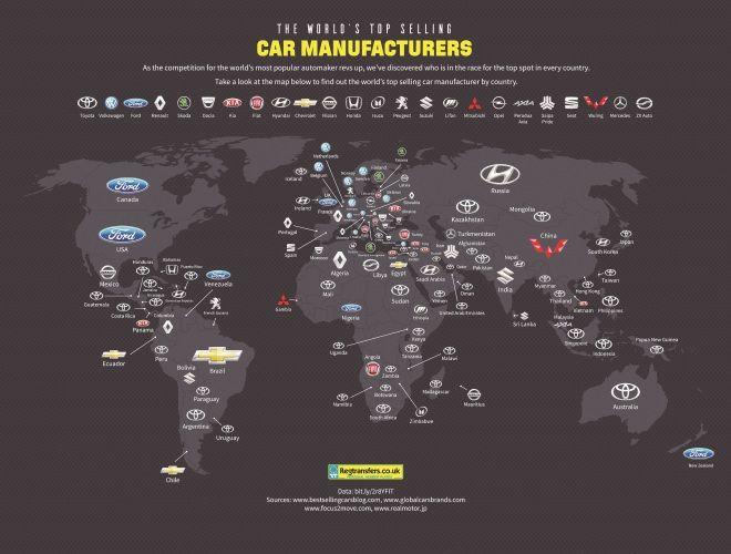 征服世界 Toyota穩居全球49國銷售龍頭