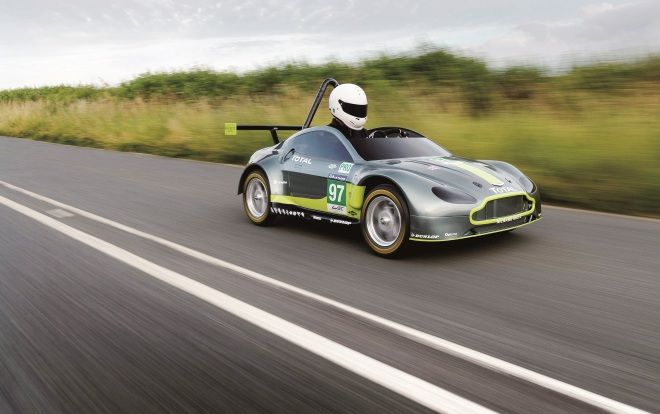 Aston Martin零排放賽車 超環保V8 Vantage GTE