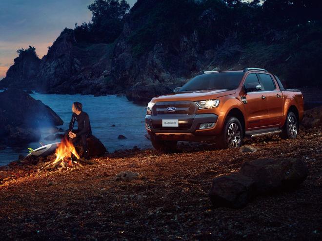 Ford Ranger硬漢魅力橫掃亞太市場 2017上半年再創銷售新紀錄