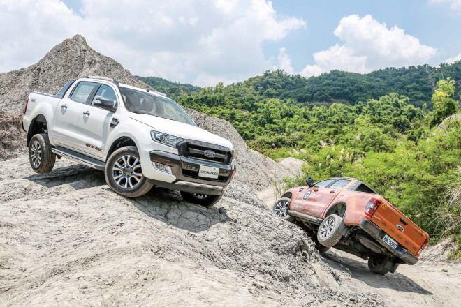 窮山惡水算什麼Ford Ranger越野體驗活動