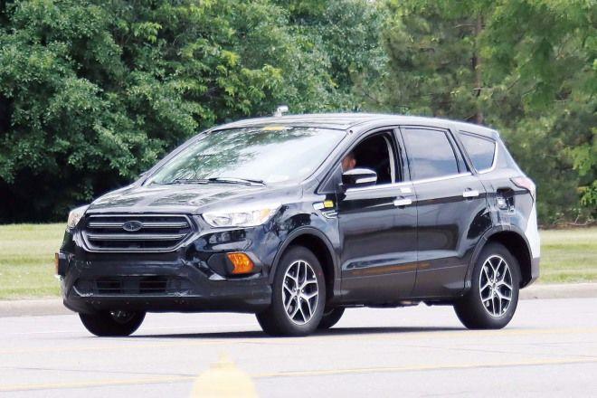 Ford Escape 偽裝測試車毫無忌憚的四處逛大街