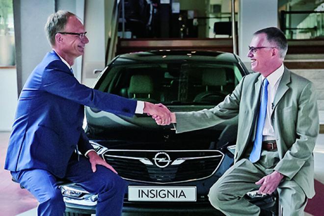 PSA集團購入Opel 和 Vauxhall