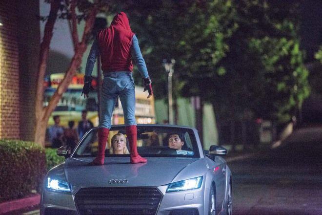 《蜘蛛人:返校日》一睹為快全新Audi A8自動駕駛技術
