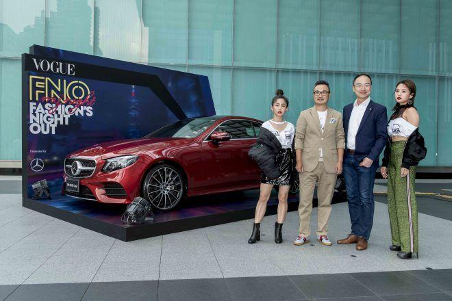 Mercedes-Benz與Vogue連續第五年打造時尚盛事 攜手展演「My night」時尚宣言