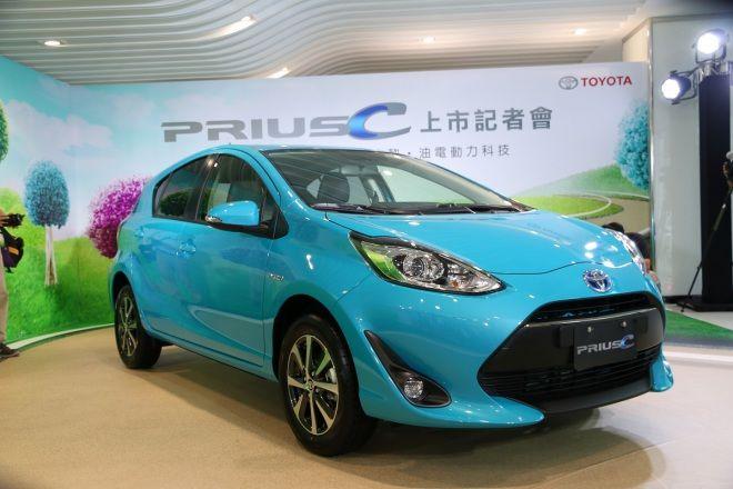 動感小改再降價!Toyota Prius C