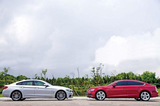 Civil War內戰Audi A5 Sportback 45 TFSI vs. BMW 430i Gran Coupe