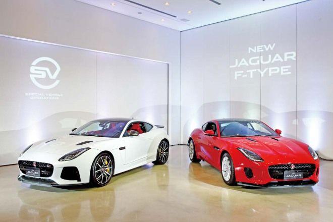 英倫紳士中的快跑選手Jaguar F-Type Coupe