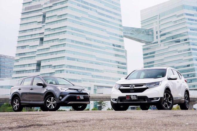 王的對決 Honda CR-V vs. Toyota RAV4