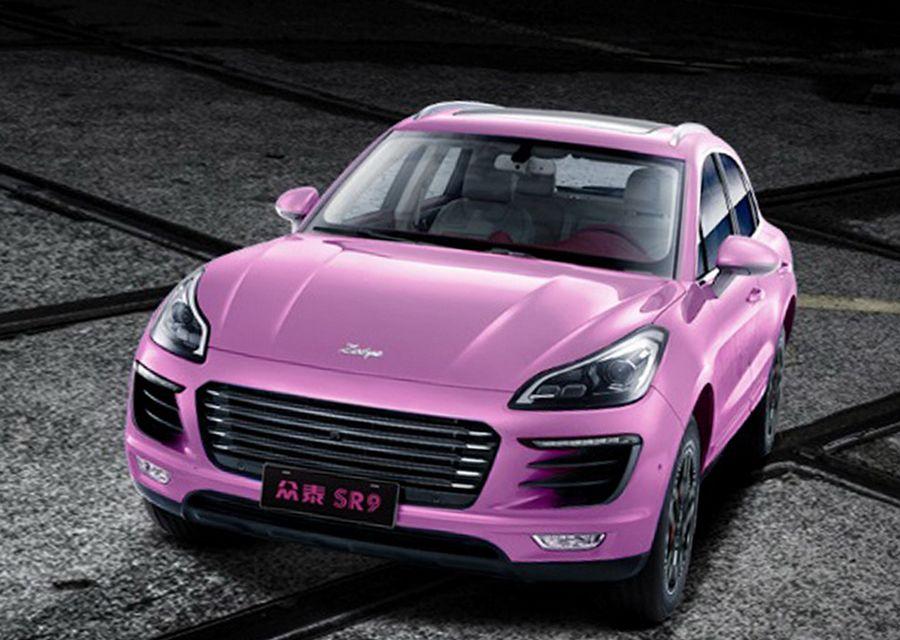 Porsche Macan的中國表妹推出《女神》特仕車