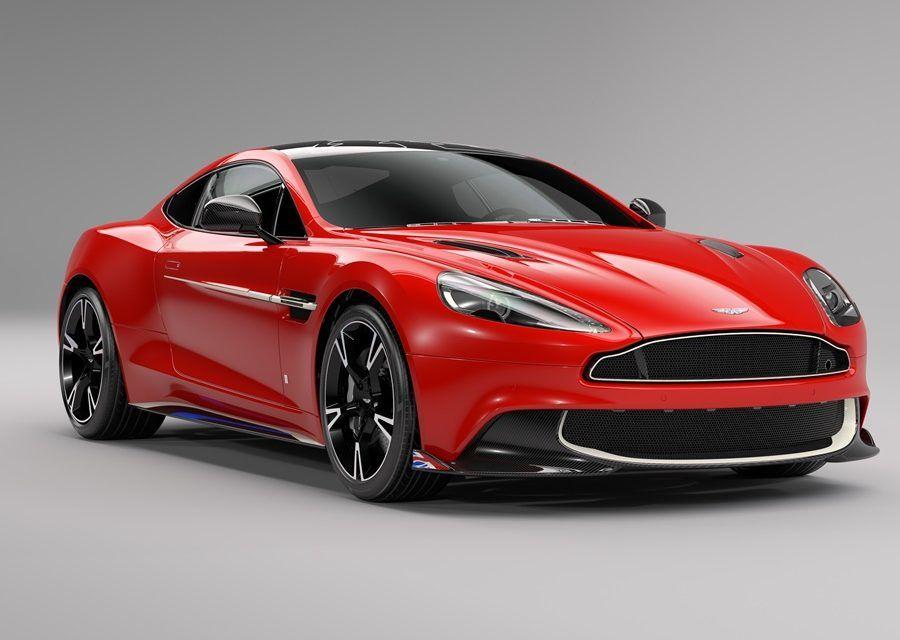 魂動紅好紅,接著是戰機紅 Aston Martin Vanquish S紅箭特技小組限定版好誘人