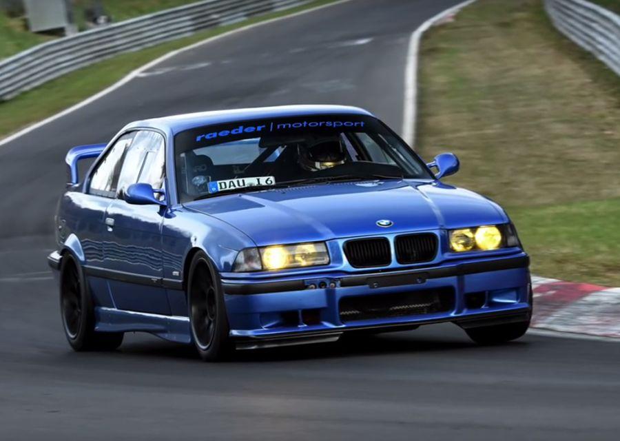 中古BMW M3跑出紐柏林最速單圈!