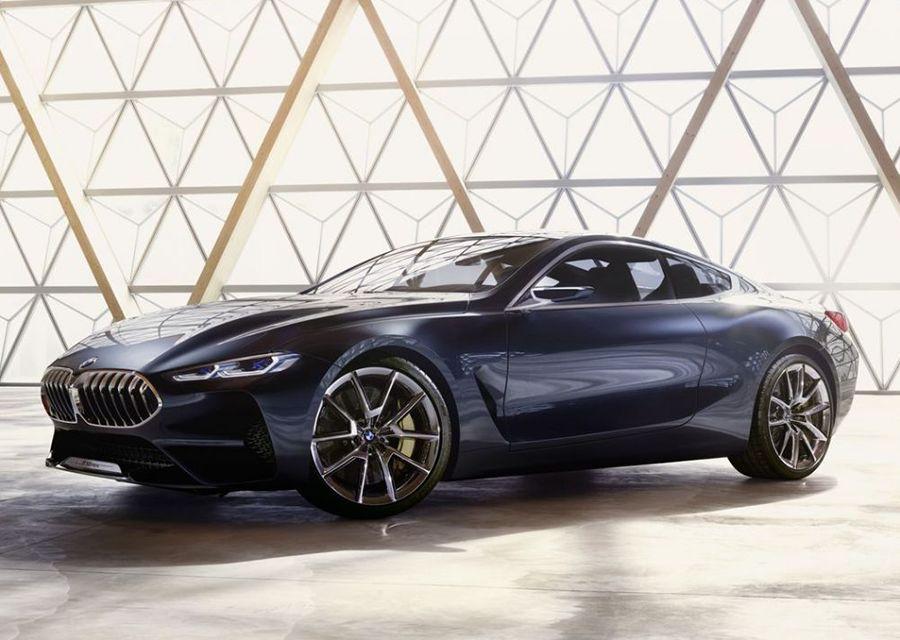 BMW 8-Series概念車現身 M8要來了嗎?