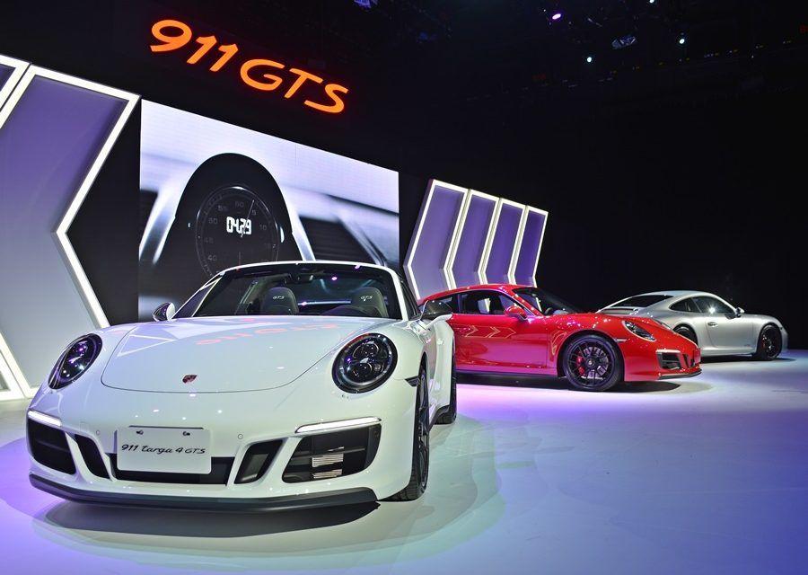 保時捷買氣停滯了嗎?911 GTS證明買氣很強  新車發表有性能秀性感,接單超旺