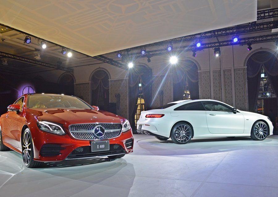豪車買氣結束了?還早! 賓士E-Class Coupe發表會像世紀婚禮,預購買氣好到不行
