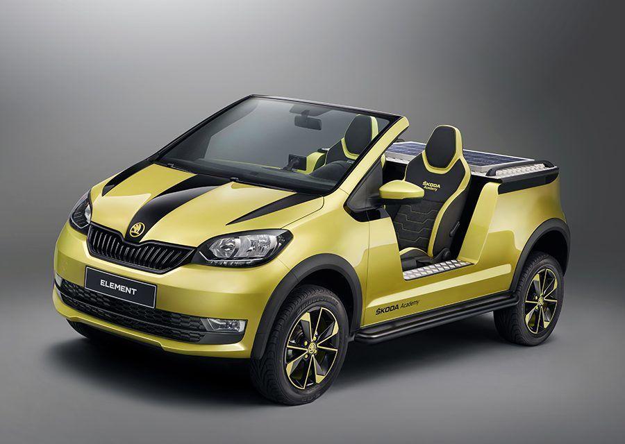 敞蓬、改裝、電音趴?概念車Škoda Element一次都給你!
