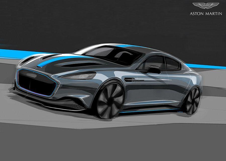 007座駕純電化!2019年限量打造115輛Aston Martin RapidE!