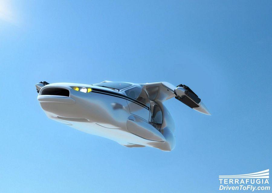 吉利併購TERRAFUGIA飛天汽車後,未來的Volvo會飛?