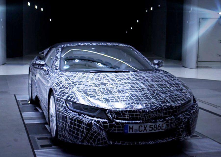展開雙翼後還要開天闢地!BMW i8 Roadster預告9月現身法蘭克福!