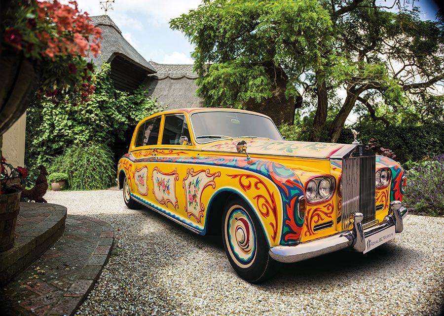 搖滾之王座駕回歸!披頭四約翰藍儂的Rolls-Royce Phantom V倫敦展出