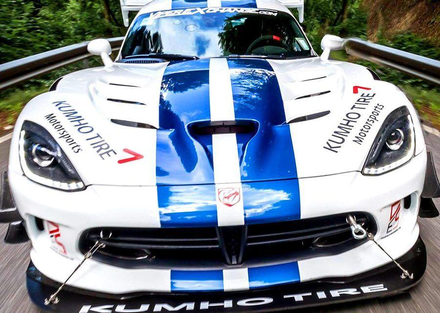 北美毒蛇征服綠色地獄!Dodge Viper ACR以7分3秒45刷出海電GT-R新紀錄!