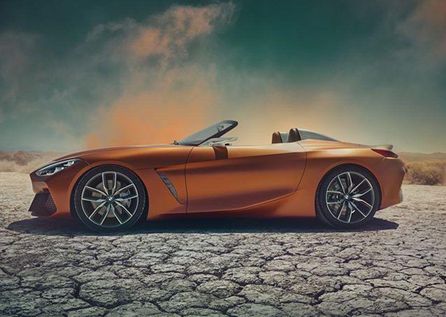 重生吧!BMW新世代前中置敞蓬跑車Z4 Concept終於現身!