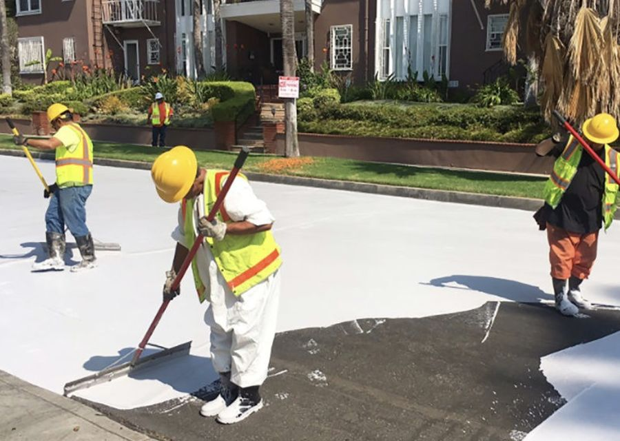 洛杉磯馬路為何要漆成白色?
