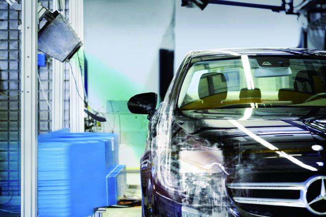 Daimler導入X光技術