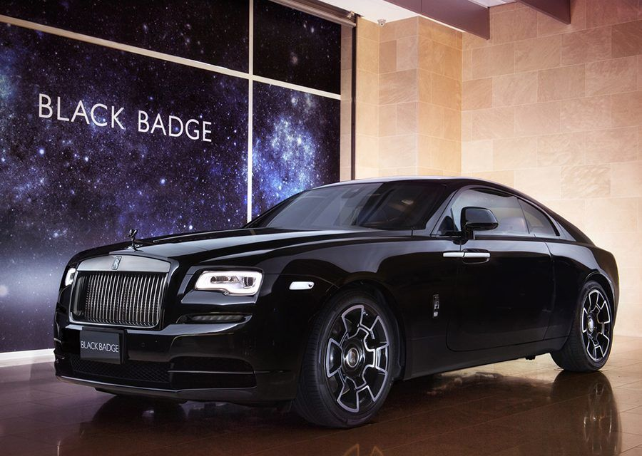 Rolls-Royce Wraith Black Badge神秘暗夜女神降臨台灣