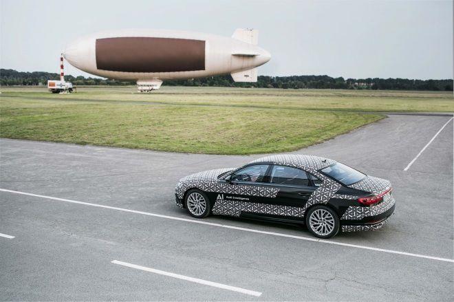 Audi AI traffic jam pilot塞車自動駕駛技術率先搭載於Audi A8