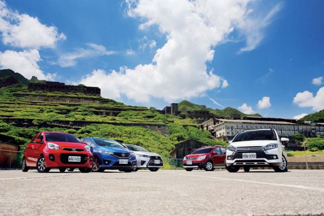 「小」以「大」義Mitsubishi Colt Plus vs. Kia Morning vs. Honda Fit vs. Toyota Yaris vs. Nissa